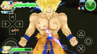 Dragon ball z tenkaichi tag team psp .iso ppsspp gold! android gameplay!