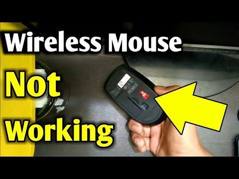 Wireless Mouse Not Working | If Wireless Mouse Is Not Working | Wireless Mouse Problems
