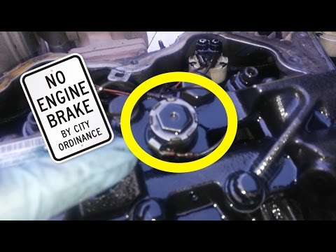 How Does An Engine Brake Work And How To Troubleshoot Them. Jake Brake  Troubleshooting. - YouTubeYouTube