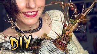 Diy  Wooden Horns · Astas Rudolph · Reindeer Antlers · Adorno Navidad Christmas Prop Craft