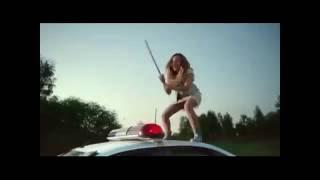 Оля разбивает машину Пети. Кадры из к/ф