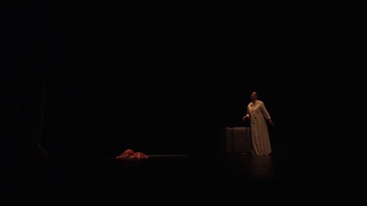 """Extraits """"Désirada""""de Maryse Condé  avec Nathaly Coualy et Igo Drané mise en scène Antoine Herbez"""