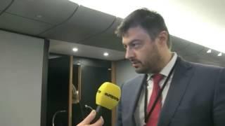 "European Parliament Nikolay Barekov interview in ""English"""