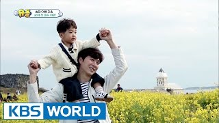 Seungjae's first trip ever to Jeju Island! [The Return of Superman / 2017.04.30]
