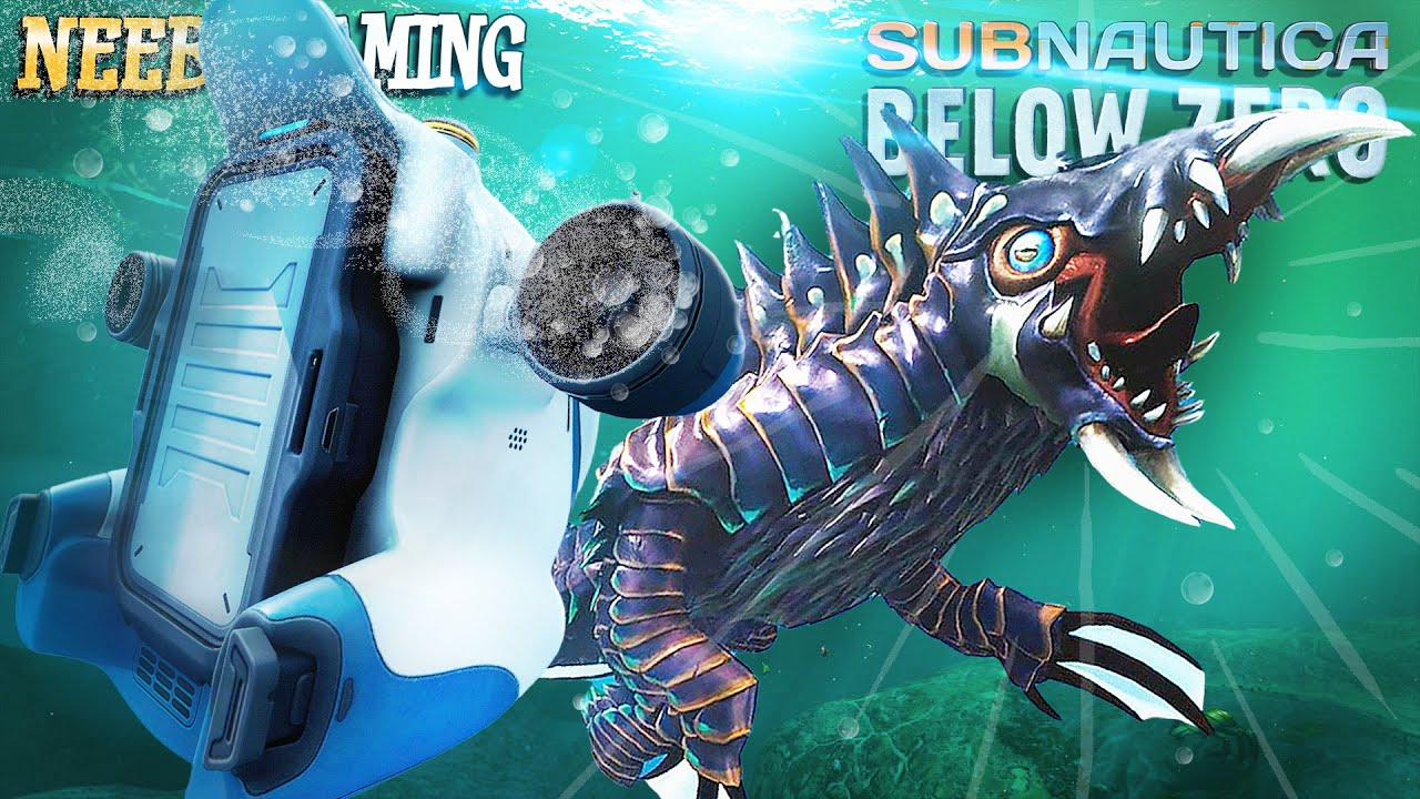 I DESTROY A MONSTER WITH A SEA-TRUCK!     Subnautica: Below Zero