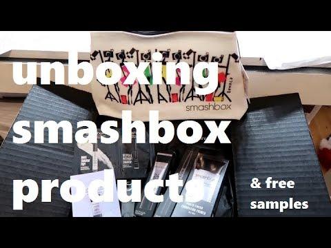 Unboxing Smashbox Products 2017