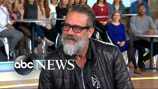 Jeffrey Dean Morgan opens up about 'Rampage' live on 'GMA'