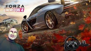 ???? Forza Horizon 4 Poczatek kariery / na kierownicy + shifter - Na żywo