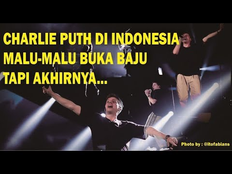 Charlie Puth Voicenotes Live In Indonesia At ICE BSD