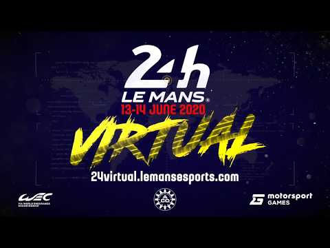 Watch 24 Hours Of Le Mans Virtual Race LIVE On Motorsport.tv