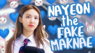 Im Nayeon being TWICE's fake maknae