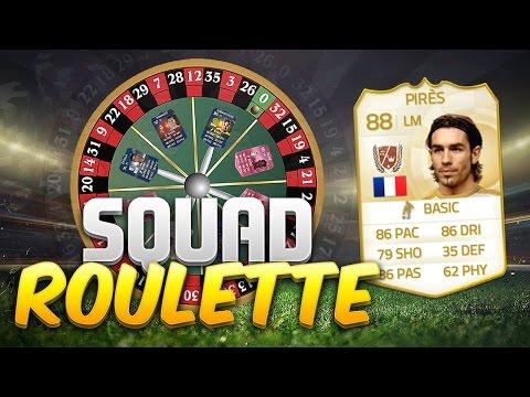 FIFA 15 SQUAD ROULETTE!!! LEGEND ROBERT PIRES!!! The Craziest Fifa 15 Squad Builder EVER!!!