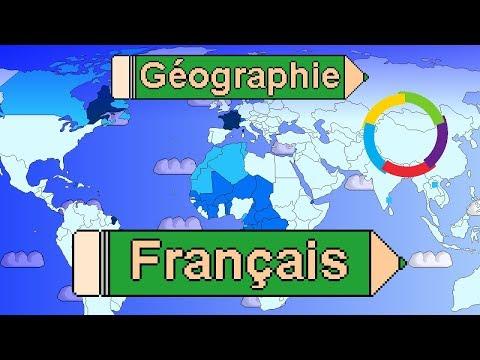 La langue française dans le monde. Dans quels pays parle-t-on français ?