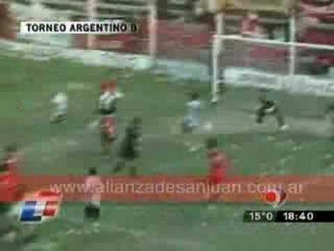 Alianza 1 - Trinidad 0 - Gol Jorge Morales