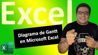 Crear un Diagrama de Gantt en Microsoft Excel