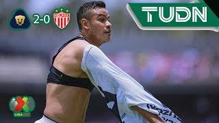 Resumen Pumas 2 - 0 Necaxa | Apertura 2019 - Jornada 2 | TUDN