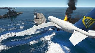 A380 Fire Engine Emergency Landing | GTA 5