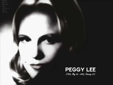 Peggy Lee - Why don't you do right