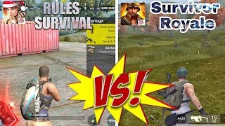 Pubg Mobile: Rules of Survival Vs Battlefield Graphics Comparison android Gameplay