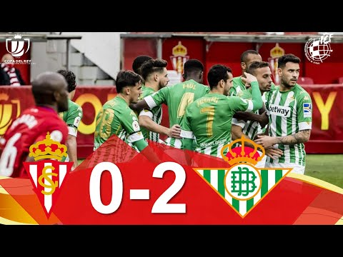 Gijon Betis Goals And Highlights