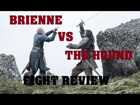 Brienne vs The Hound Fight Review! (Game of Thrones Season 4)
