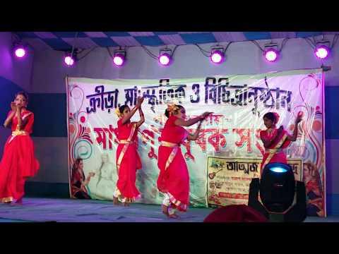 Lilabali Lilabali Folk Song By (Lopamudra Mitra) || Atmaj Kala Kendra's LIVE Dance Performance