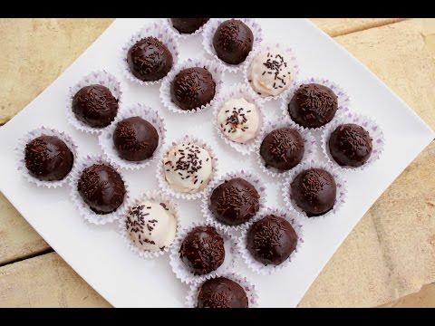 Kuglice sa čokoladnim smokijem /Brzi sitni kolači