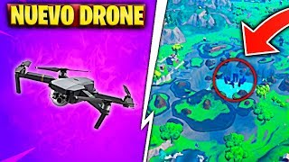 NEW OBJECT ZEBULON DRONE AND INSIDE THE CUBE ROCKS in FORTNITE (Final Loot Raft Event)