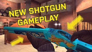 NEW SHOTGUN GAMEPLAY! Critical Ops NEW Weapon!
