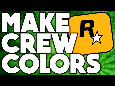 How To Make Your Own GTA 5 Online Rare/Modded Crew Colors!