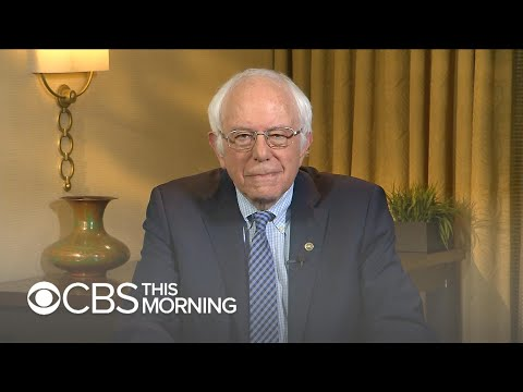 "Bernie Sanders says U.S. is already a ""socialist society"" under Trump"