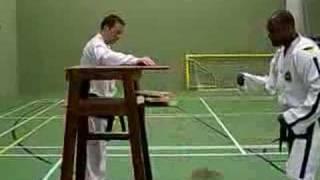Taekwon-do - Winston Rose Vdegree - Forefist Punch Powertest