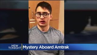 Student Seriously Hurt On Amtrak Speaks Out For First Time