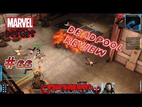 Marvel Heroes 2016 Gameplay German #66 Die Deadpool Review Vorstellung mal anders Deadpool