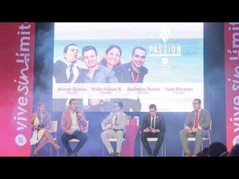 Panel Daniel Chagüi, Riviera Maya 2016; Academia de Liderazgo Zrii  [Passion]