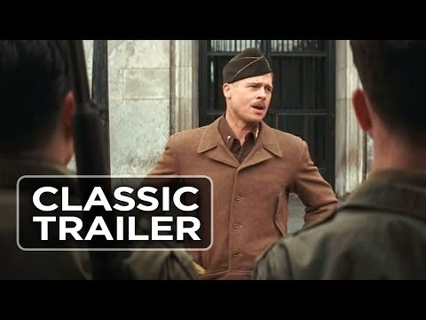Inglorious Basterds (2009) Official Trailer #1 - Brad Pitt Movie HD