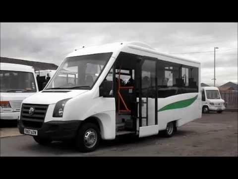 2008 volkswagen crafter cr50 accessible mellor minibus youtube. Black Bedroom Furniture Sets. Home Design Ideas