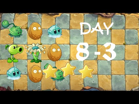 [PC] Plants vs. Zombies Online - Ancient Egypt Day 8-3 (Bejeweled)