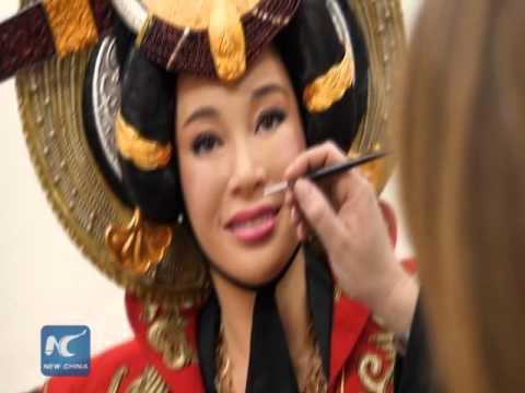 First celeb wax figure in Madame Tussaud Chongqing