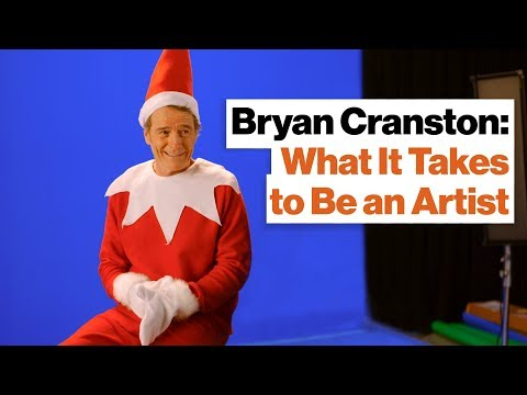 Bryan Cranston Explains What It Takes to Be an Artist