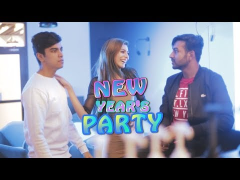 DHAKA GUYS IN NEW YEARS PARTY