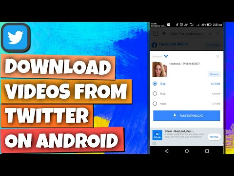 How To Download Video From Twitter - How To Download Twitter Videos To Gallery On Android