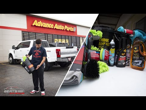 DETAILING A Vehicle With Advanced Auto Parts Equipment UNDER $100 !