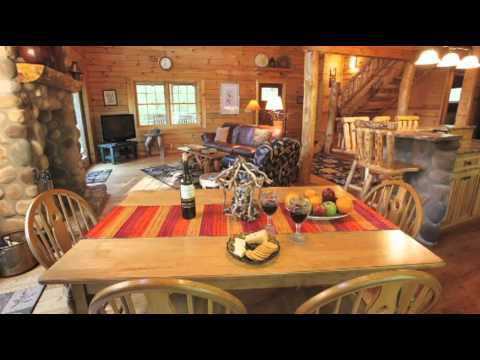 A Tour of Luxury Lodge Rental Hocking Hills Painted Horse Lodge