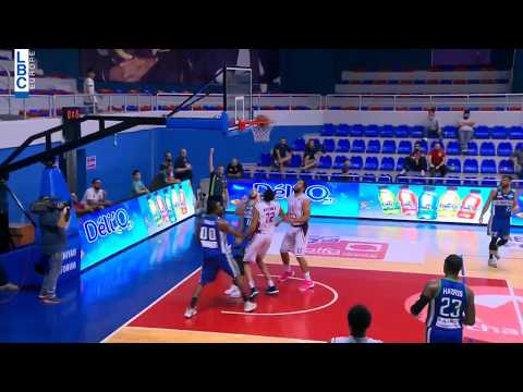 Alfa Basketball Championship - Beirut v Mouttahed - Rony Fahed Assist