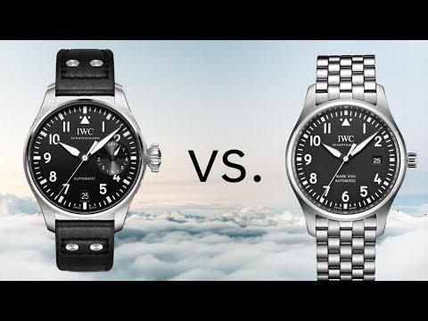 Why Is The IWC Big Pilot 3X More Expensive Than The Pilot's Watch Mark XVIII?