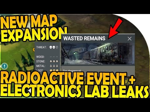 NEW MAP EXPANSION + ELECTRONICS LAB + RADIOACTIVE EVENT LEAKS - Last Day on Earth Survival Gameplay