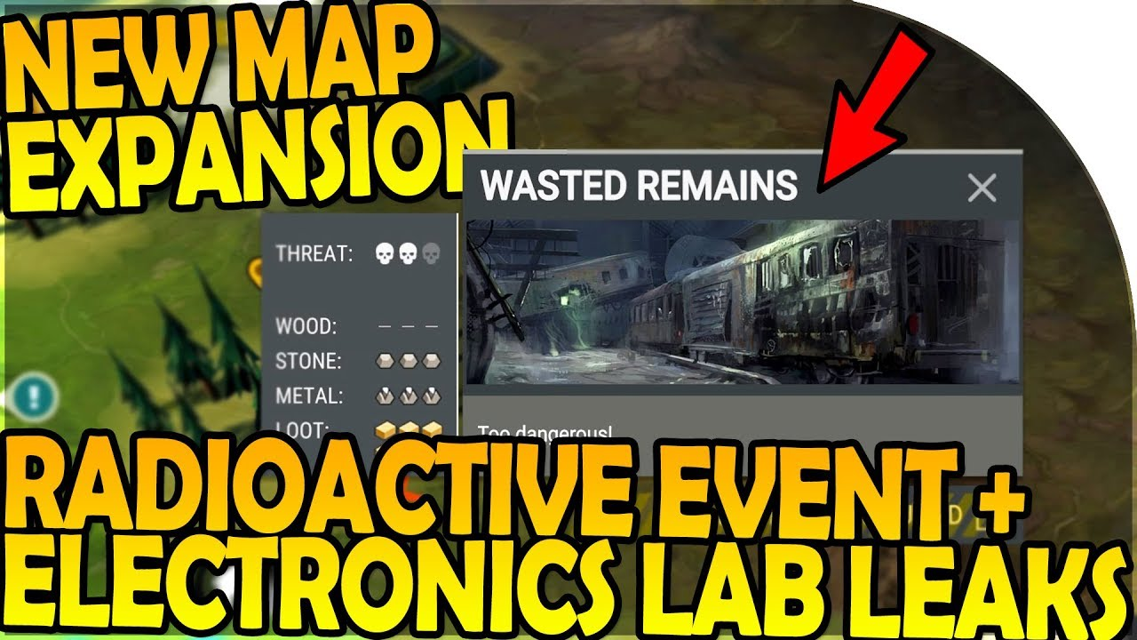 NEW MAP EXPANSION + ELECTRONICS LAB + RADIOACTIVE EVENT LEAKS