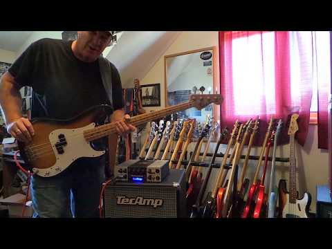 Aria Pro II - outstanding 1970's - Fender P Bass copy - Andy Irvine