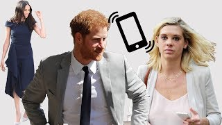Prince Harry and Chelsy Davy had an emotional phone call before the Royal Wedding